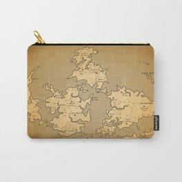 Gaia Midgar Final Fantasy VII Map Carry-All Pouch