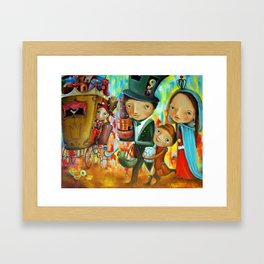 Trip Of The Queen Framed Art Print