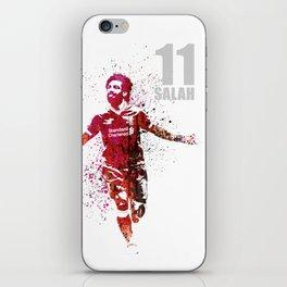 SALAH - 11 grey iPhone Skin