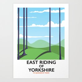 East Riding of Yorkshire Art Print