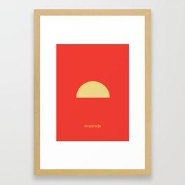 Empanada Framed Art Print
