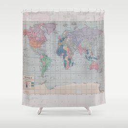 Lost Without You Shower Curtain