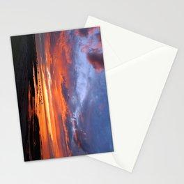 Stunning Seaside Sunset Stationery Cards