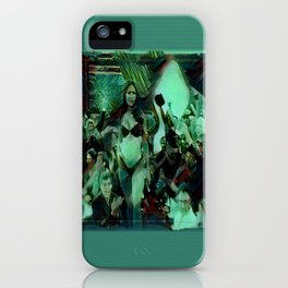 Peep Show Ghouls iPhone Case