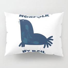 Norfolk By Rail Pillow Sham