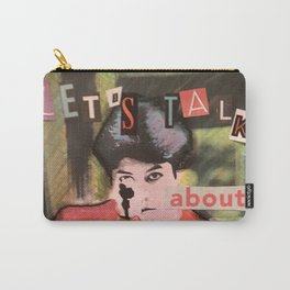Let's Talk About Gender Equality Carry-All Pouch