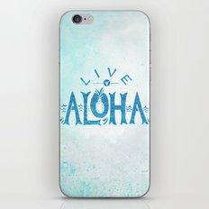 Live Aloha iPhone Skin