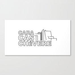 Caracas Chévere Canvas Print