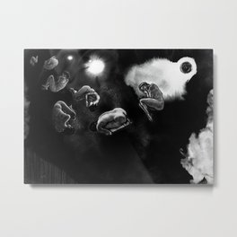 human asteroids Metal Print