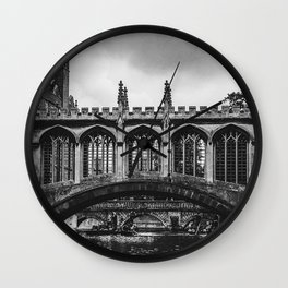 The Bridge of Sighs Wall Clock