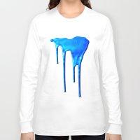splatter Long Sleeve T-shirts featuring Splatter by Hints Photos
