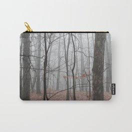 Woods on a Foggy Sunday Stroll Carry-All Pouch