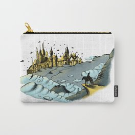 The Golden City Carry-All Pouch