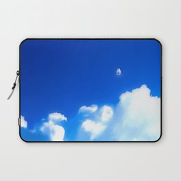 Starship breaking clouds Laptop Sleeve