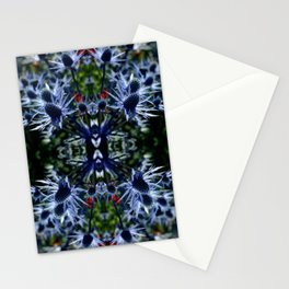 Burst of Blue  Stationery Cards