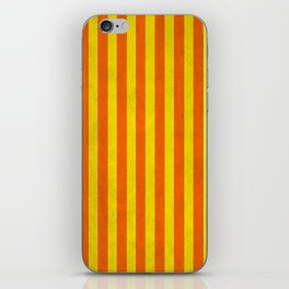 Stripes Collection: Citrus iPhone Skin
