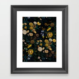 EXOTIC GARDEN - NIGHT II Framed Art Print