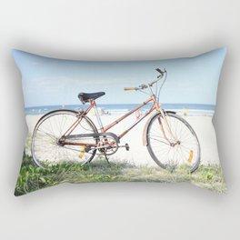 Vintage Beach Rectangular Pillow