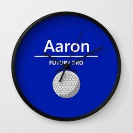 Future Golf Pro - Aaron Wall Clock