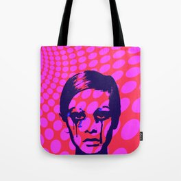 Iconic Twiggy Tote Bag