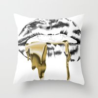 gucci Throw Pillows featuring Gucci by s0phism