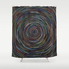 Star lapse Shower Curtain
