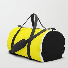 TEAM COLORS 10....YELLOW,BLACK Duffle Bag