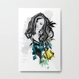 Sofia Metal Print