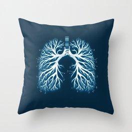 I Breathe Music Throw Pillow