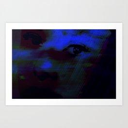 Burning Eyes 02 Art Print