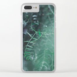 Paradise 03 Clear iPhone Case