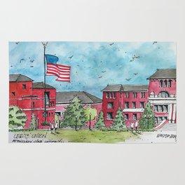 Lee & Union at Mississippi State University Rug