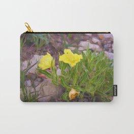 Prairie Primrose Carry-All Pouch