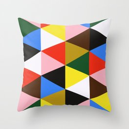 EAMES! Throw Pillow