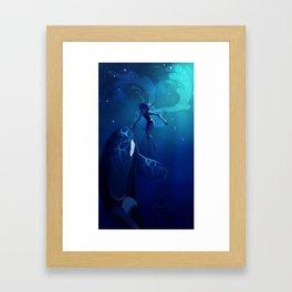 Lapis Ocean Framed Art Print
