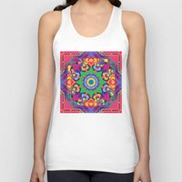 vegetable Tank Tops featuring Vegetable Mind by pocketsoup