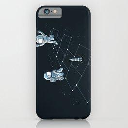 Hopscotch Astronauts iPhone Case
