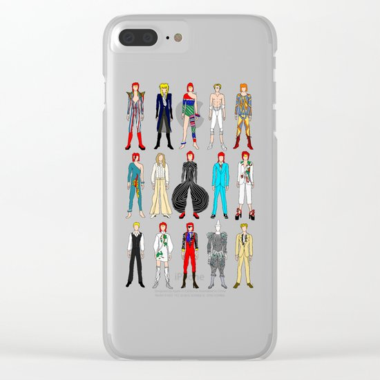 Retro Vintage Fashion 1 Clear iPhone Case