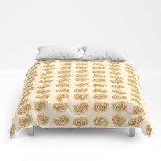 Paisley Watercolor in Tea (tan brown) Comforters