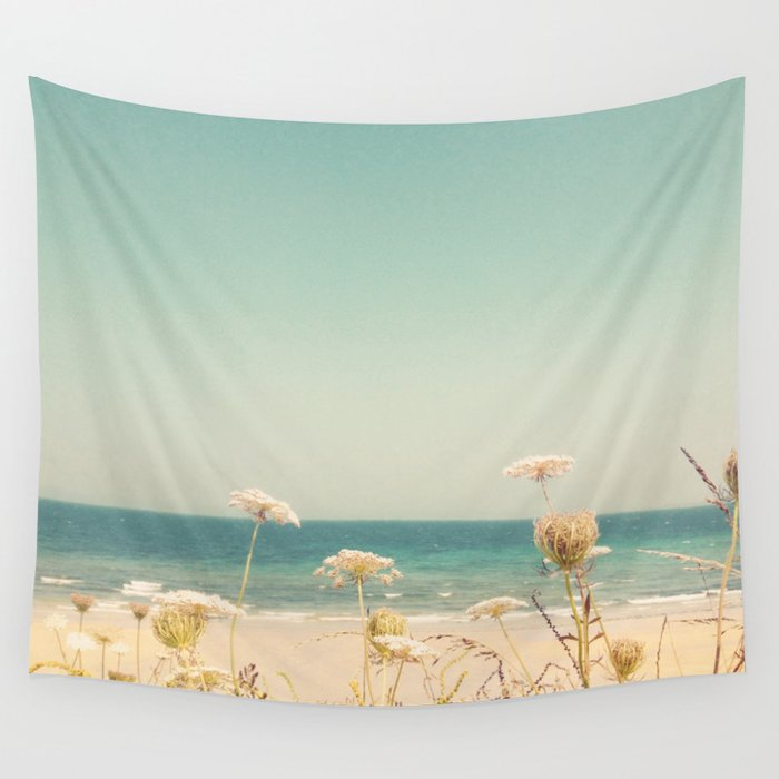 Water and Lace Wall Tapestry