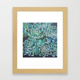 """Keep Showing Up"" Framed Art Print"