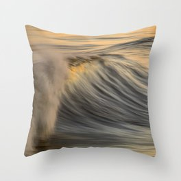 Slow Dog Throw Pillow