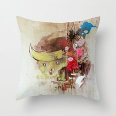 re lie able Throw Pillow