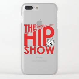 tragically the hip show tour 2019 2020 hajarlah Clear iPhone Case
