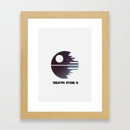 Death Star II Framed Art Print