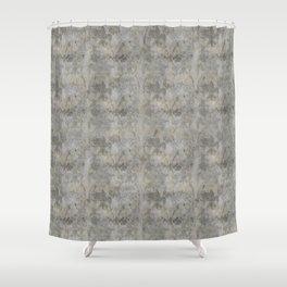 Faded Fluer De Lis Shower Curtain