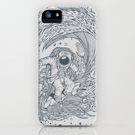 I only surf on Comets iPhone Case