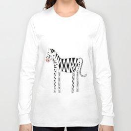 Long legs Zebra Long Sleeve T-shirt