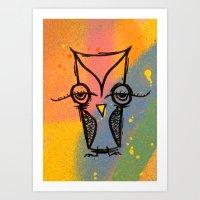 agnes cecile Art Prints featuring Little Agnes by Jeff Claassen