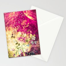 Vintage Flowers XV - for iphone Stationery Cards